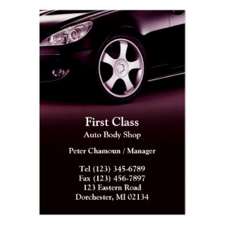 Auto-Körper-Geschäfts-Chubby Geschäfts-Karte Mini-Visitenkarten