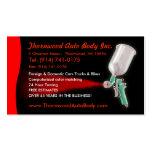 Auto-Körper-KUNDENGERECHTE Geschäfts-Karte Visitenkarten