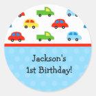 Auto-LKW-Geburtstags-Party danken Ihnen Aufkleber