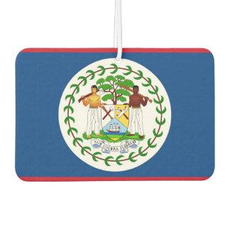 Auto-Lufterfrischer mit Flagge von Belize Autolufterfrischer
