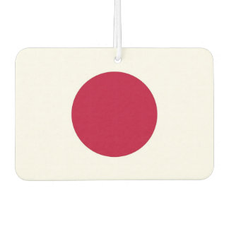 Auto-Lufterfrischer mit Flagge von Japan Lufterfrischer