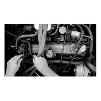 Auto-Mechaniker-Geschäfts-Karte Visitenkarten