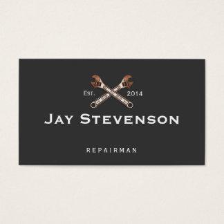 Auto-Mechaniker/Zuhause-Reparatur-Schlüssel Visitenkarten