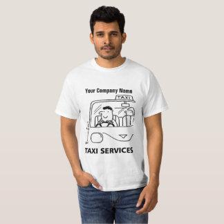 Auto-Miet-u. Taxi-Service-Cartoon-T - Shirt
