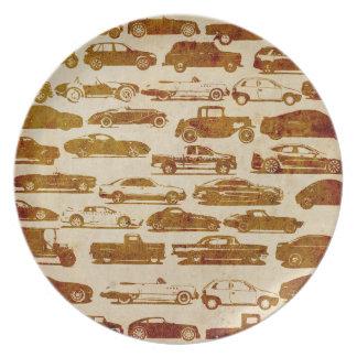 Auto-Platte Flacher Teller