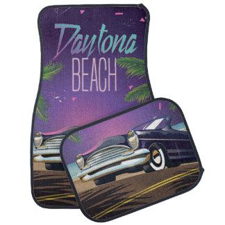 Auto-Reiseplakat Daytona Beach Vintages Automatte
