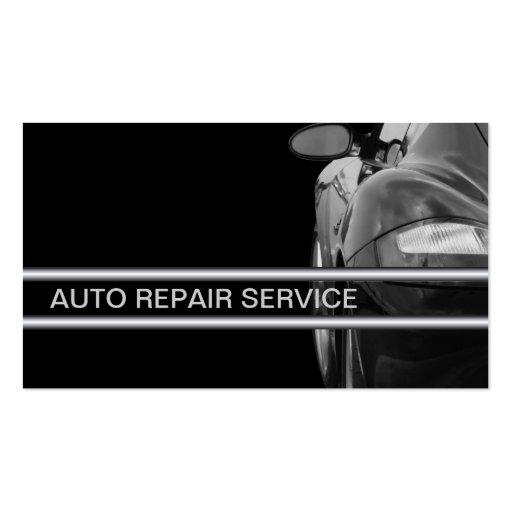 Auto-Reparatur-Geschäfts-Karten Visitenkartenvorlagen