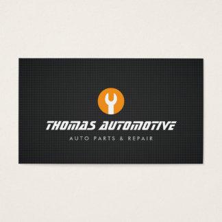 Auto-Reparatur-Schlüssel-Logo-Geschäfts-Karte Visitenkarte