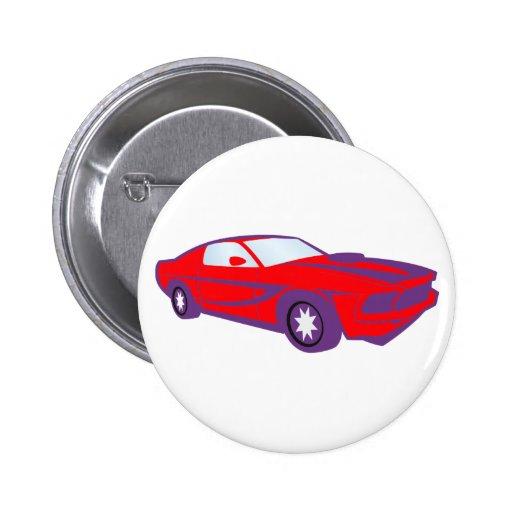 Auto Sportwagen sports car roadster Anstecknadelbuttons