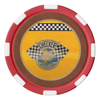 Auto - Stadt - NYC Taxi Poker Chips