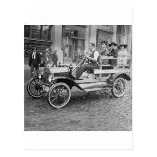 Auto-Streik-Tramper, frühe 1900s Postkarte