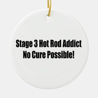 Auto-Süchtiger der Bühne-3 keine Heilung möglich Keramik Ornament