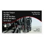 Auto-Transport-Geschäfts-Karten Visitenkarten Vorlage