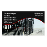 Auto-Transport-Geschäfts-Karten Visitenkarten