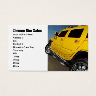 Auto-Verkäufe, Kante-Verkäufe Visitenkarte