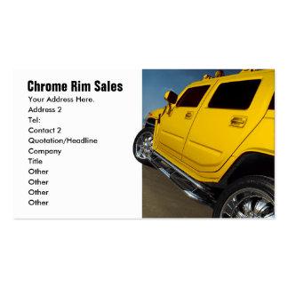 Auto-Verkäufe, Kante-Verkäufe Visitenkarten