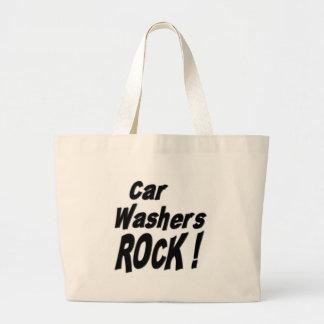Auto-Waschmaschinen-Felsen! Taschen-Tasche Jumbo Stoffbeutel