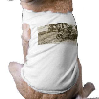 Auto-Wrack-Marinestadt MI s im Juli 1930 - Vintag Top