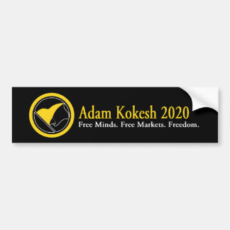 Autoaufkleber 2020 Adams Kokesh