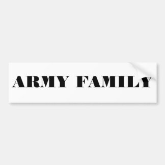 Autoaufkleber-Armee-Familie Autoaufkleber