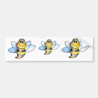 Autoaufkleber Biene, bienen, bee, bees, carsticker