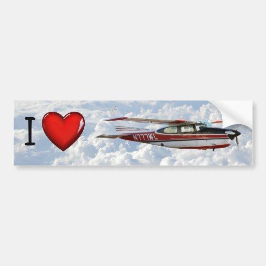 Autoaufkleber Cessnas 210 N777WL