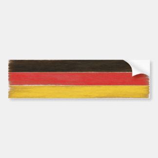 Autoaufkleber-coole beunruhigte deutsche Flagge Autoaufkleber