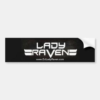 Autoaufkleber Damen-Raven