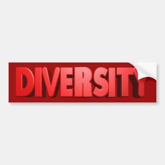 Autoaufkleber des Diversity-(Rec)
