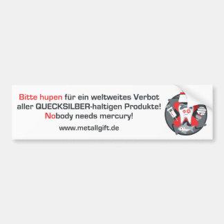 Autoaufkleber (Deutscher, weiß)