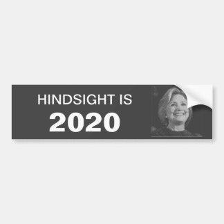 Autoaufkleber Hillary im Jahre 2020