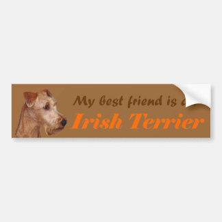 """Autoaufkleber """"Irish Terrier"""""""