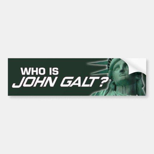Autoaufkleber Johns Galt