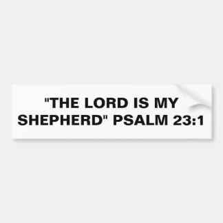 """Autoaufkleber Lord-Is My Shepherd"" Autoaufkleber"