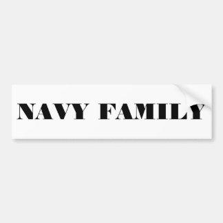 Autoaufkleber-Marine-Familie Autoaufkleber