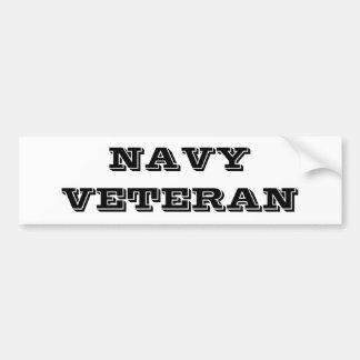 Autoaufkleber-Marine-Veteran Autoaufkleber