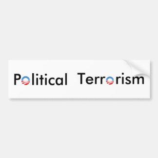 Autoaufkleber - politischer Terrorismus