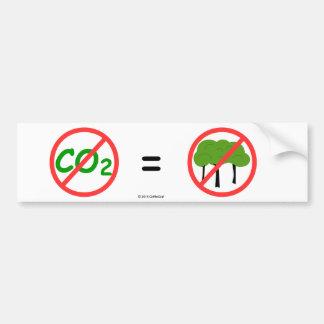 Autoaufkleber Pro-CO2