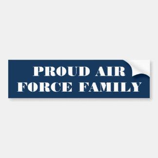 Autoaufkleber-stolze Luftwaffen-Familie Autoaufkleber