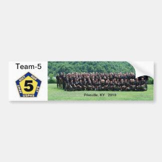 Autoaufkleber Team-5