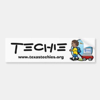 Autoaufkleber - Techie