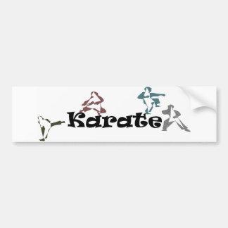 Autoaufkleberkriegskunst-Karate capoeira Autoaufkleber