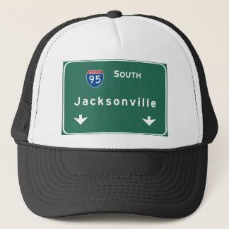 Autobahn-Autobahn Jacksonvilles Florida: Truckerkappe