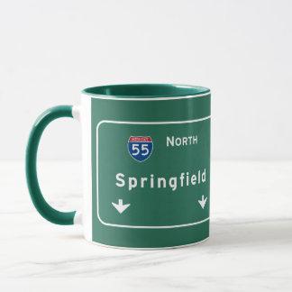 Autobahn-Autobahn Springfields Illinois: Tasse