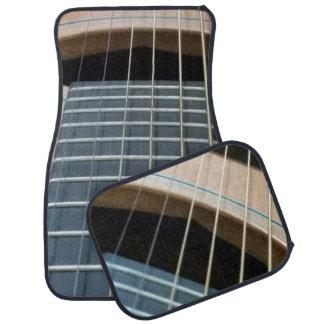 Automatten mit Gitarrenbild (Set von 4) Automatte