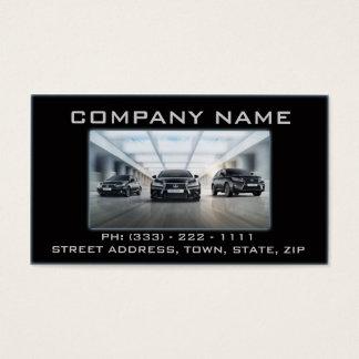 Automobil-/Mechaniker-schwarze Garage fasten Visitenkarte