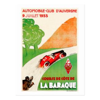 Automobil-Verein ~ Vintage Auto-Anzeige Postkarte