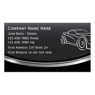 AutomobilVisitenkarte Visitenkarten