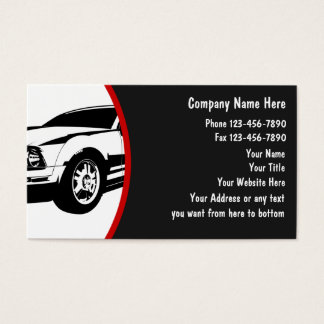 AutomobilVisitenkarten Visitenkarte