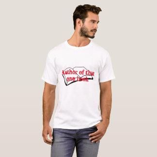 Autor dieses eines Buches T-Shirt
